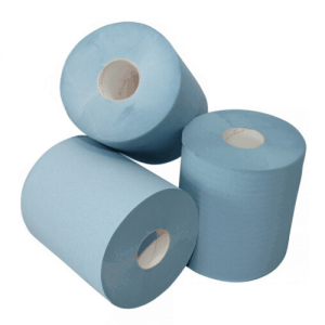 Clean Product poetspapier blauw