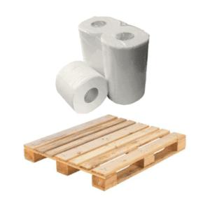 Pallet toiletpapier cellulose