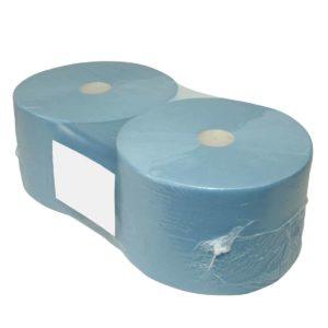 Clean Product industriepapier rollen blauw