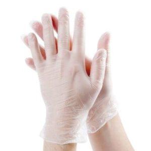 Vinyl handschoenen poedervrij