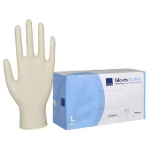 Latex handschoenen wit